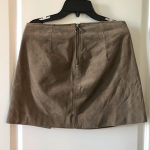 Blank NYC Skirts - Blank NYC | Suede Miniskirt | Size 26